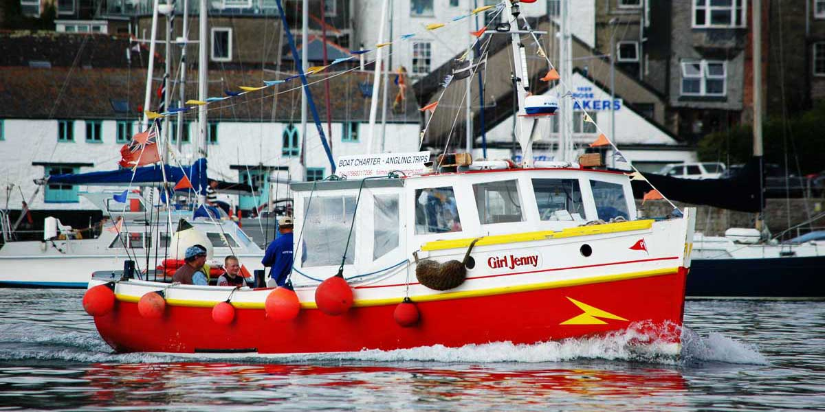 Falmouth Fishing Trips, catch your supper!